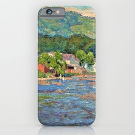 Landscape 1899 - Theodore Clement Steele iPhone Case