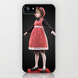 Red bonnet iPhone Case