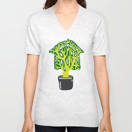 Tree is Our Home Unisex V-Neck