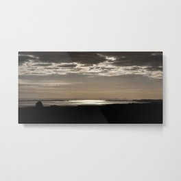 The Severn Bridges at Sunset Metal Print