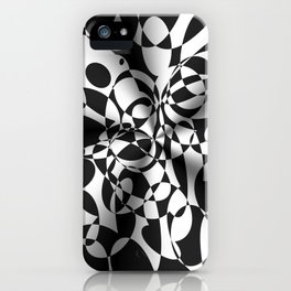 Op Art Boogaloo iPhone Case