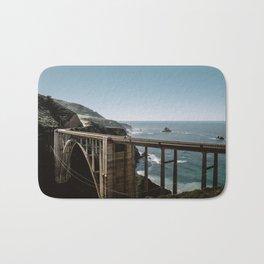 Bixby Bridge in Big Sur California Bath Mat