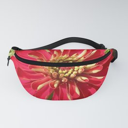 Red Zinnia Fanny Pack