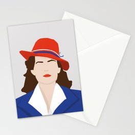 Agent Carter Vector Stationery Cards