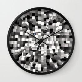 Blocked Space Wall Clock