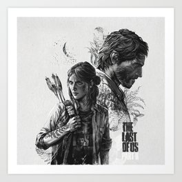 The Last of Us Part II Art Print