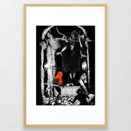 Dark Desecration Framed Art Print
