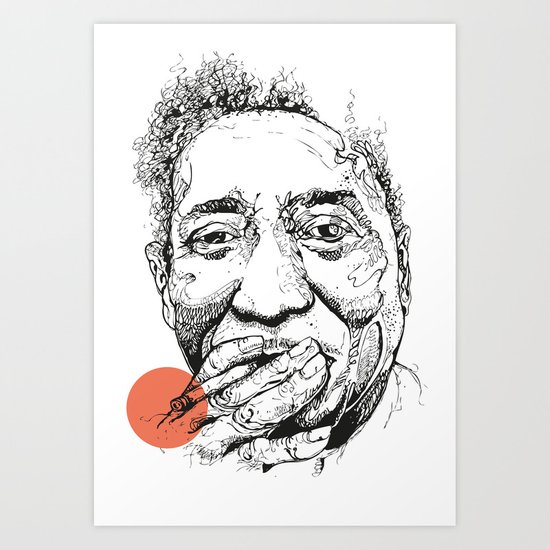 Muddy Waters - Get your mojo! Art Print