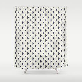 Poppy Blues Shower Curtain