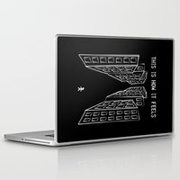 depression Laptop & iPad Skins featuring Depression by mailboxdisco