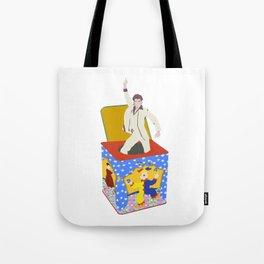 disco in the box Tote Bag