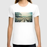 train T-shirts featuring Train station by Sookie Endo