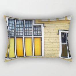 Church Windows Rectangular Pillow