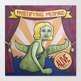 Mystifying Mermaid Canvas Print