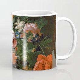 Still Life with Flowers Rachel Ruysch Coffee Mug