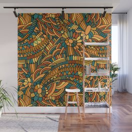 Vintage ornament Wall Mural