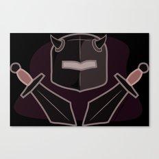 Exile From Ullathorpe - Helmet and Swords Canvas Print