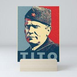 Josip Broz Tito Mini Art Print