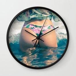 Beach bum ll Wall Clock
