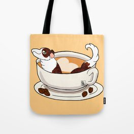 Furbags For Coffee Lovers Tote Bag