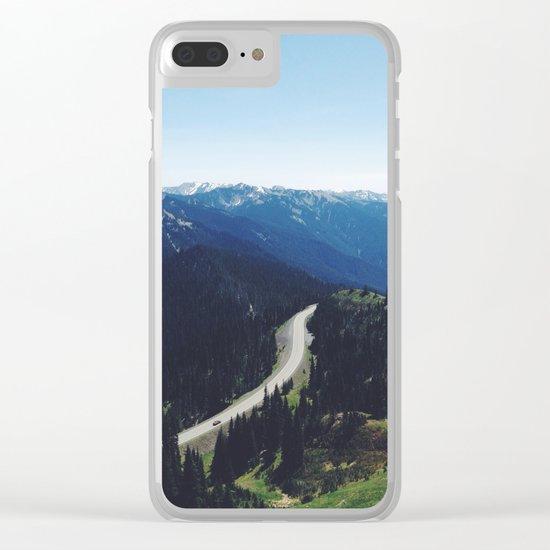 Hurricane ridge Clear iPhone Case