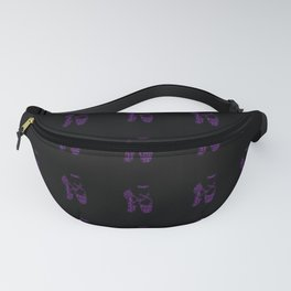 Ballet Dancer Pointe Shoes Bright Pink Fanny Pack