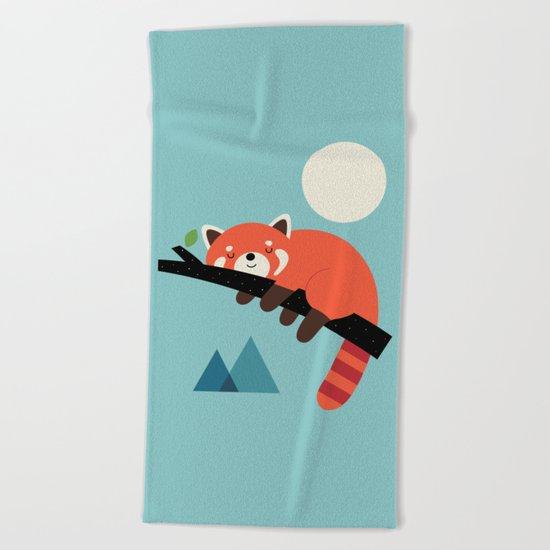 Nap Time Beach Towel