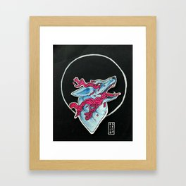 Sometimes it Feels Like I'm Drowning Framed Art Print