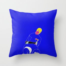 Burden Throw Pillow