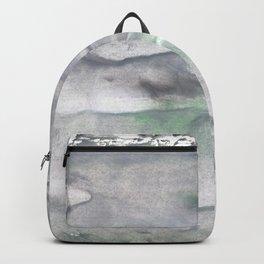 Dark gray watercolor Backpack
