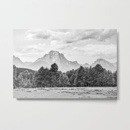 Mountains in the Distance Metal Print