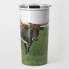 Texas Longhorn Travel Mug