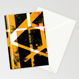 abstract cranes Stationery Cards