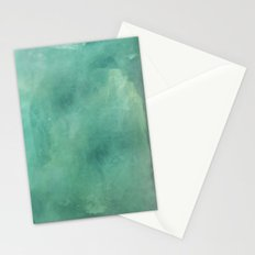 Turquoise Stone Texture Stationery Cards