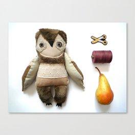 Brian owl Canvas Print
