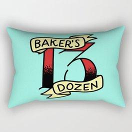 Baker's Dozen Rectangular Pillow