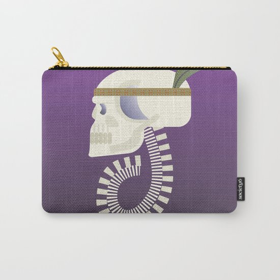 Indie G skull Carry-All Pouch