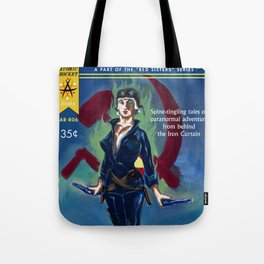 """Tales of the White Russian"" Book Cover Tote Bag"
