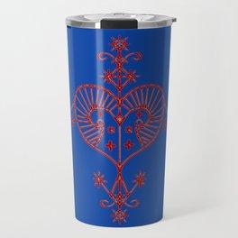 Voodoo Symbol Erzulie Travel Mug