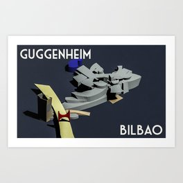 Guggenheim Bilbao Art Print