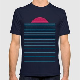 Linear Sunset T-shirt