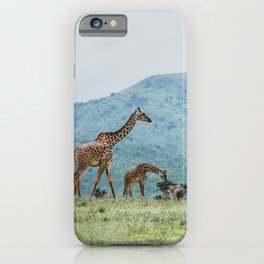 Ngorongoro Crater, Tanzania IV iPhone Case