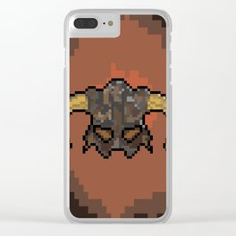 Skyrim Dragonborn Clear iPhone Case