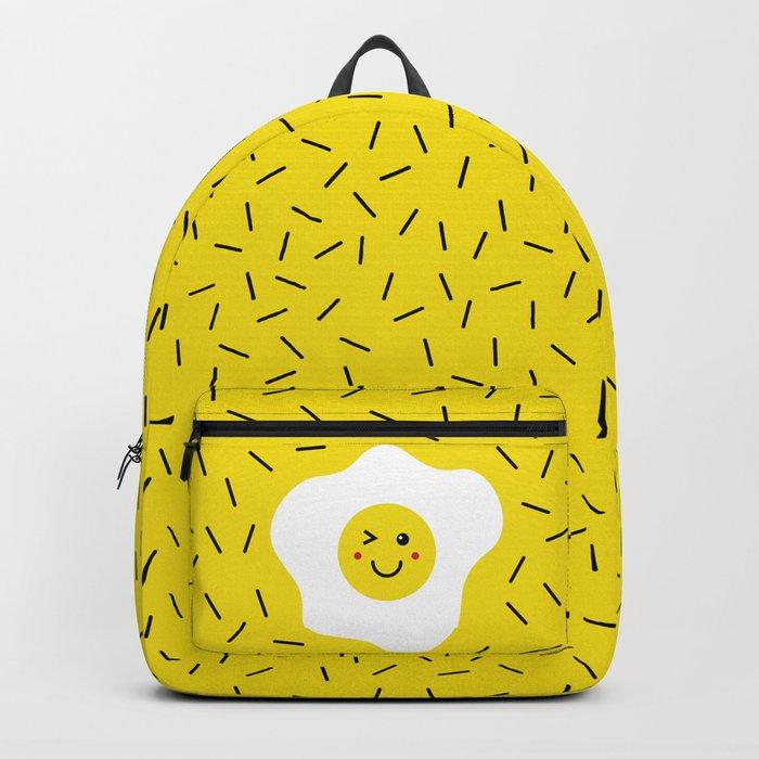 Eggs emoji Backpack