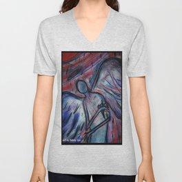 Trippin' Angelic Unisex V-Neck
