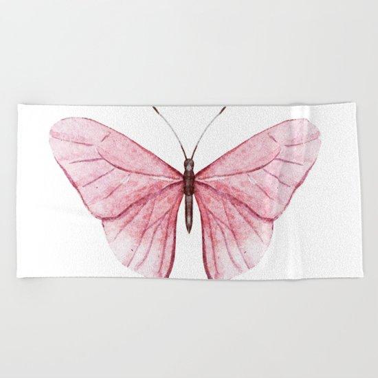 Butterfly 03 Beach Towel