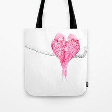 Birds Love Tote Bag