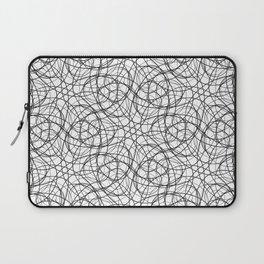 Curly cobweb Laptop Sleeve