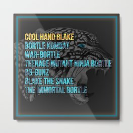 An Ode to Cool Hand Blake Metal Print