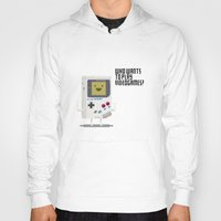 bmo Hoodies featuring Game Bmo by KScully